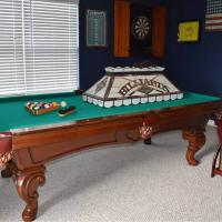 Beautiful 8' Olhausen 30th Anniversary Pool Table