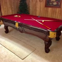 """Brunswick """"Orleans"""" Pool Table & Accessories"""