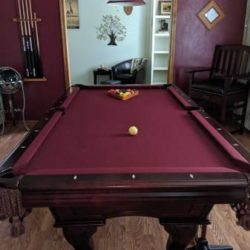 7' Pool Table and Accessories