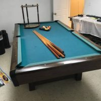 Antique Brunswick Billiard Table