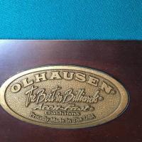 8' Tulip Blackhawk Pool Table by Olhausen